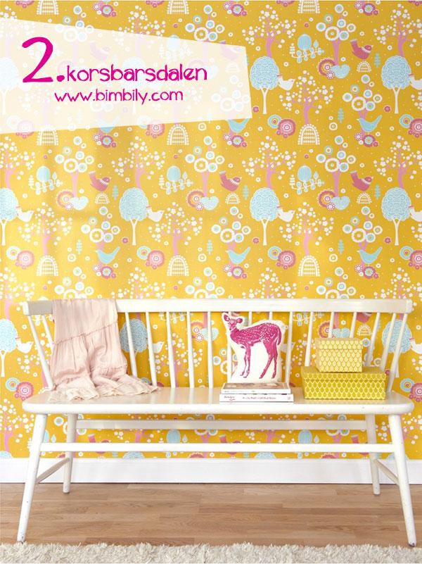 carte parati colorate majvillan_korsbarsdalen_yellow_wallpaper_bimbily_1