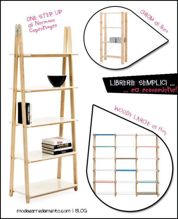 mobili librerie design