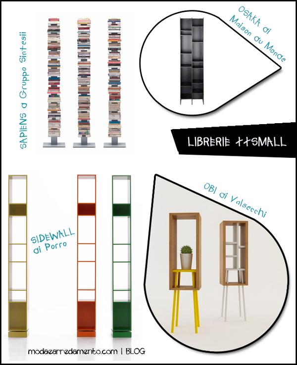 Librerie piccole dimensioni ridotte grandi capacit for Librerie piccole dimensioni