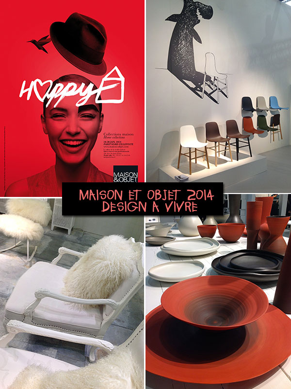 Maison et Objet trends 2014 locandina