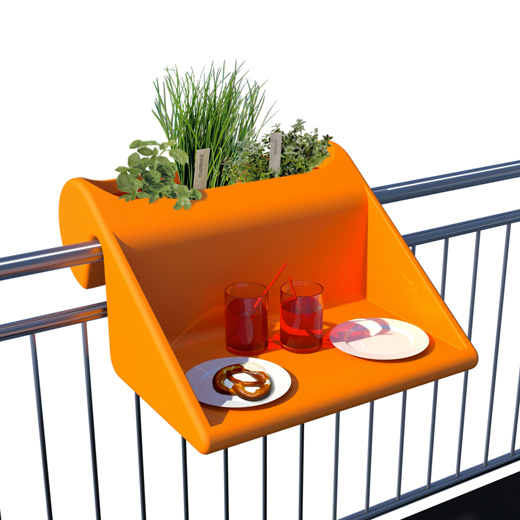 arredare monolocale design Balcony