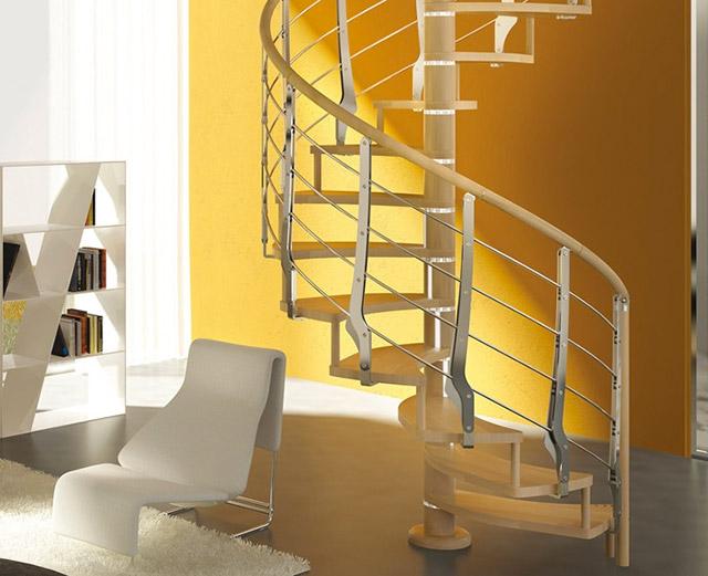 E la luce fu alla scoperta delle scale a chiocciola con la luce - Scale a chiocciola salvaspazio ...