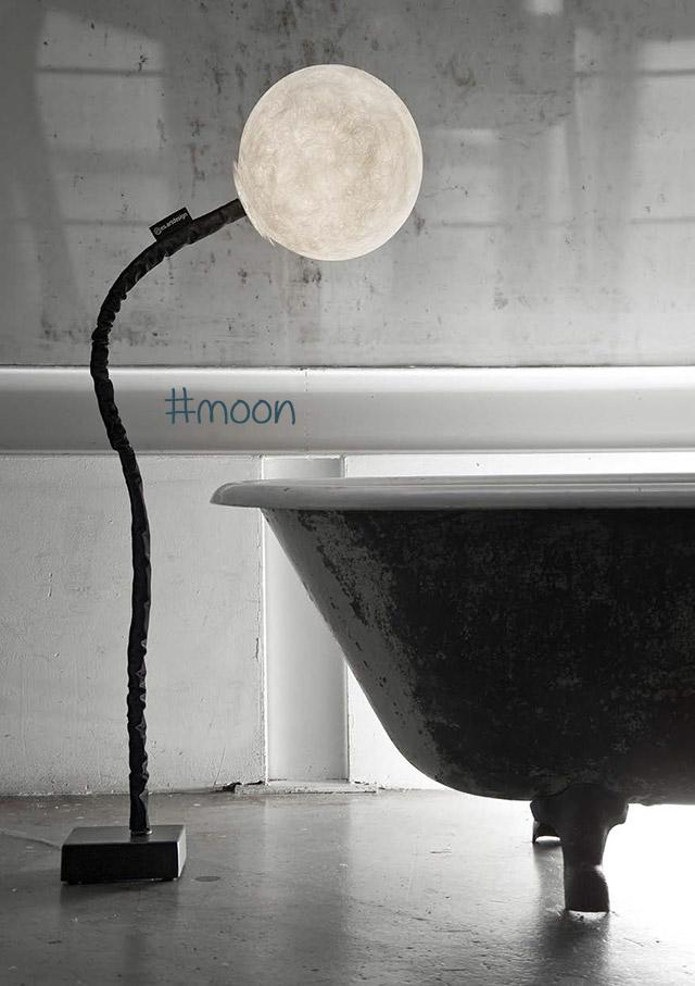 lampade design online modello moon da terra.