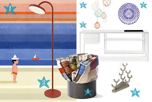 Design al mare arredare una casa al mare piccola for Arredare una casa piccola