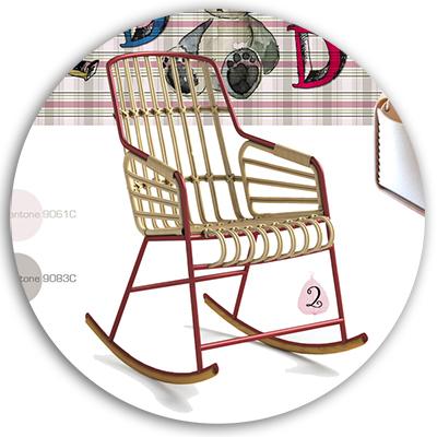 Immagine della sedia a dondolo Casamania - Rocking Chairs