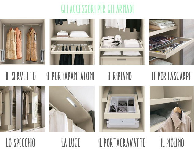 Accessori per armadi - Shopping Acquea