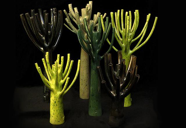 Vaso moderno collezione Naturalia di Fos ceramiche.