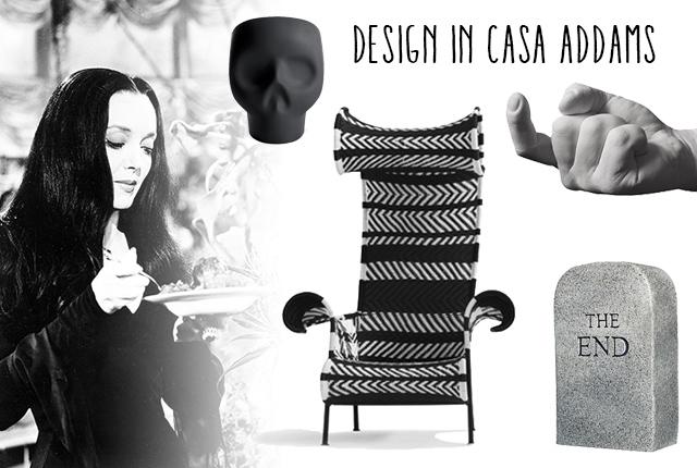 design in casa addams