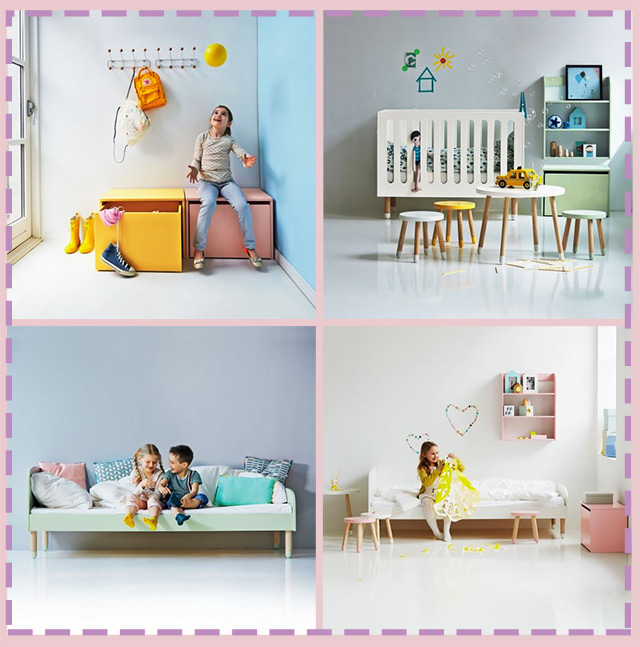 mobili per bambini divertenti idee di design nella