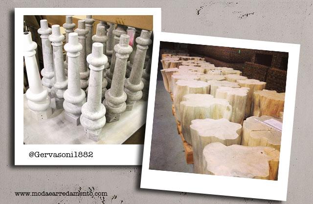 Gervasoni produzione e materiali