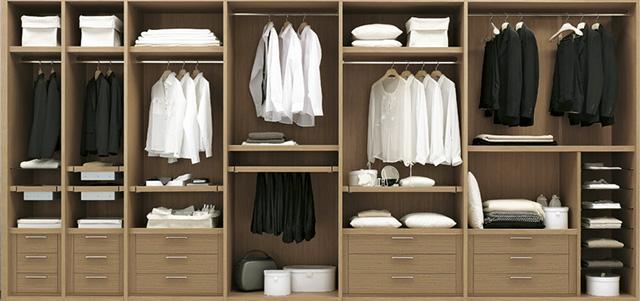 Idee salvaspazio zona notte i letti contenitori - Idee armadio camera da letto ...