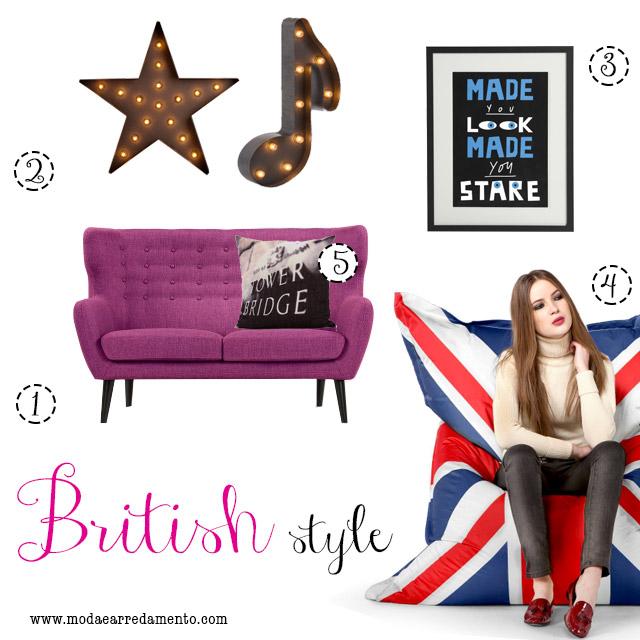 MADE.COM arredare il soggiorno in stile British.