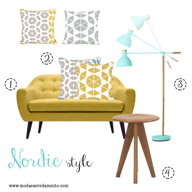 MADE.COM arredare il soggiorno in stile Nordico.