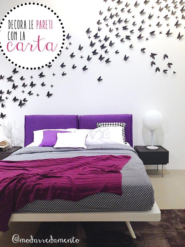 Colorare e decorare le pareti di casa tecniche e stili - Decorare un muro ...