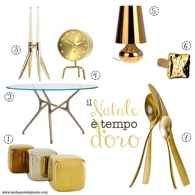Il natale tempo d 39 oro oggetti design natale for Oggetti design