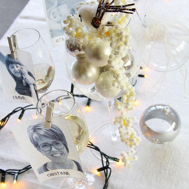 Tavola capodanno decorazioni fai da te il mio tutorial - Decorazioni tavola capodanno fai da te ...