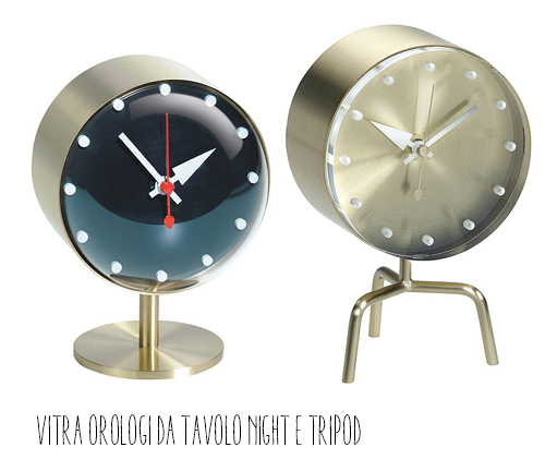 orologi vitra night and tripod