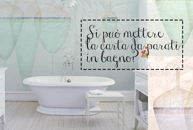 Si pu mettere la carta da parati in bagno - Carta da parati in bagno ...