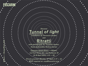 FOSCARINI ZONA BRERA TUNNEL OF LIGHT INVITO