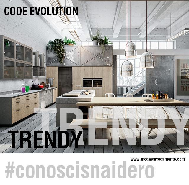 #conoscisnaidero e le cucine Trendy