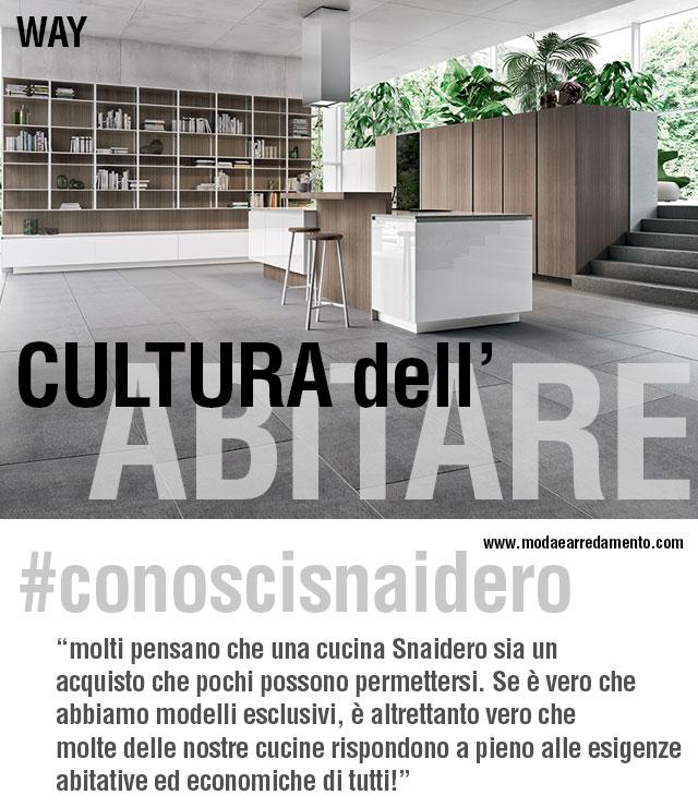 #conoscisnaidero e la sua cultura dell'abitare.