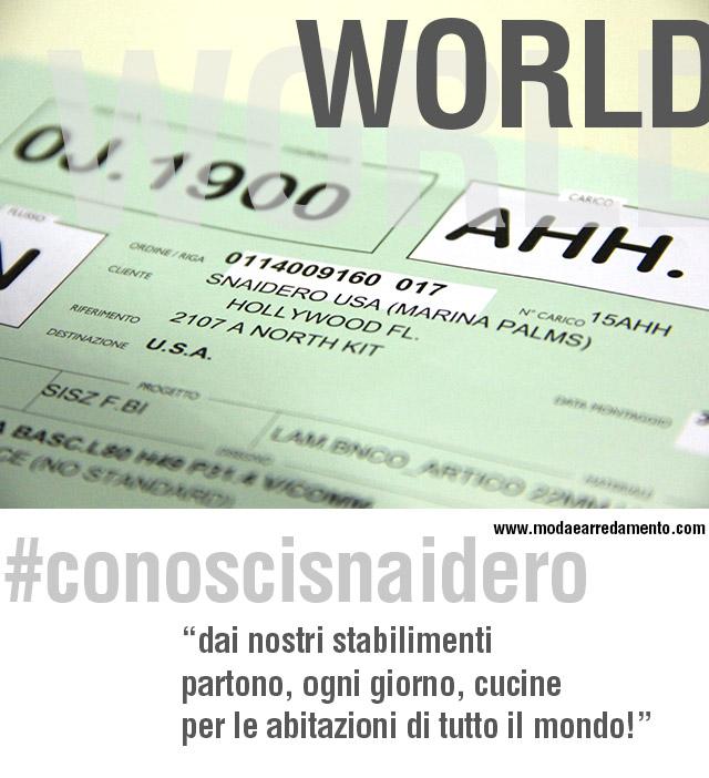#conoscisnaidero e la sua internazionalità