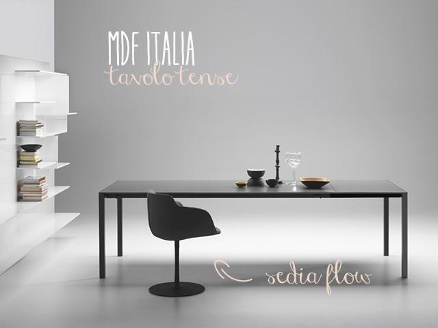 Come Abbinare Tavolo Pavimento Scuro Soggiorno: Tavolo trasformabile con sedie a scomparsa in ...