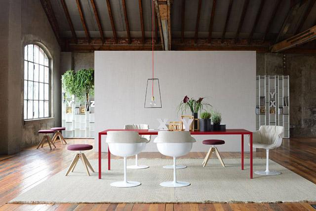 Come abbinare tavolo e sedie sette soluzioni di design for Sedie bianche design