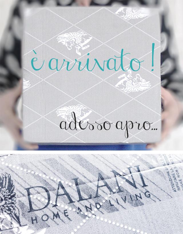 Dalani loveyourhome immagine di pacco da aprire.