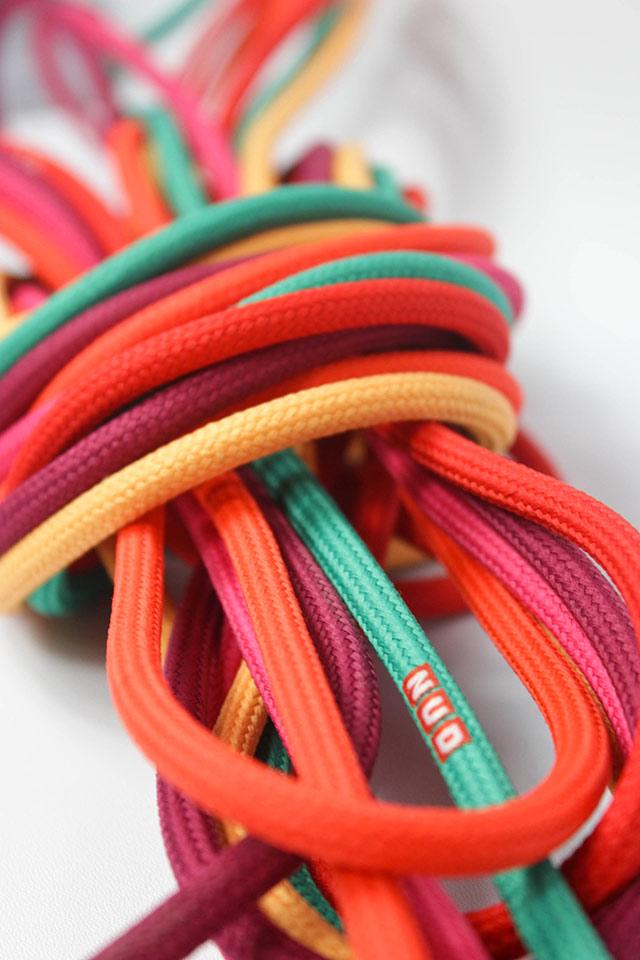 Nud collection cavi colorati per personalizzare le lampade.