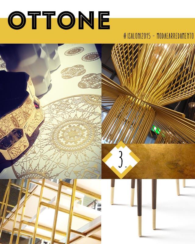 Colori e materiali 2015 : ottone