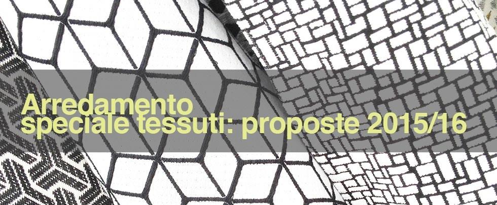 Slider tessuti proposte 2015-2016