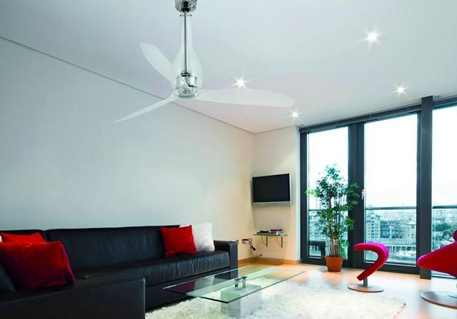 Ventilatore moderno.