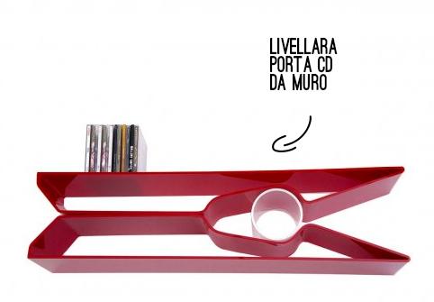 livellara porta cd rosso