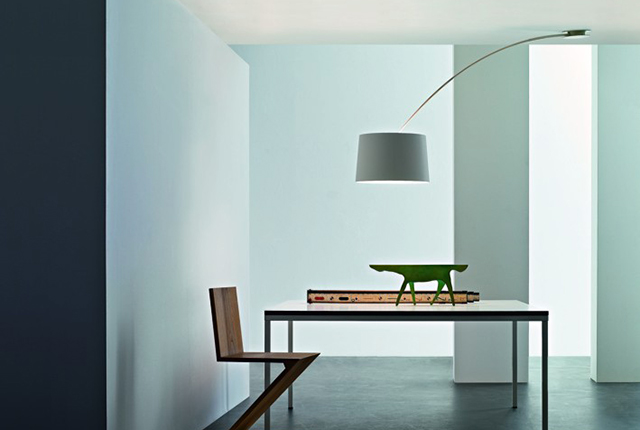 Twiggy lampada a soffitto decentrata bianco.