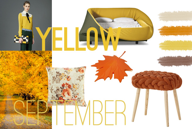 Yellow mood: September ispiration.