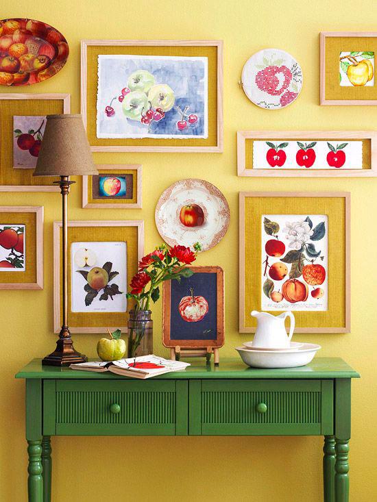 Yellow september alcune ispirazioni per arredare casa - Parete giallo ocra ...