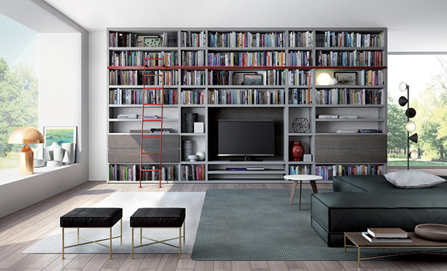Libreria Mood di Doimo Design