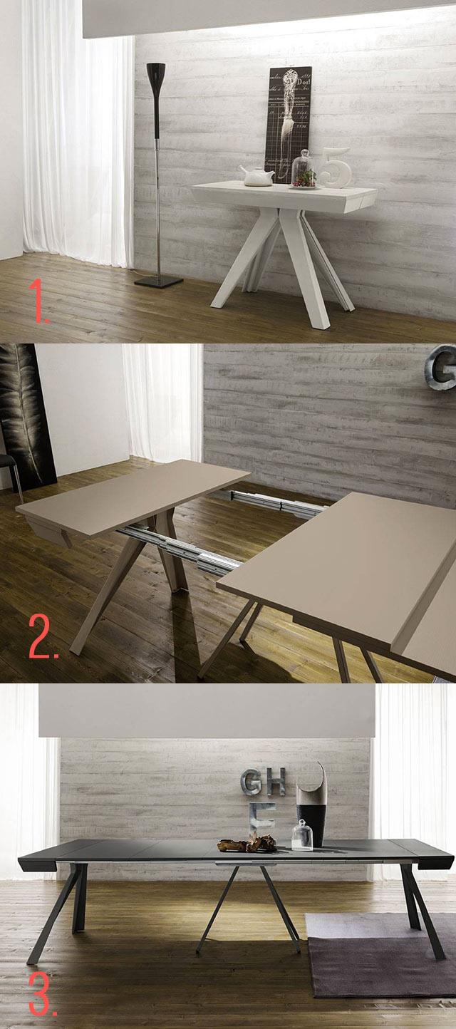 Quale consolle d ingresso scelgo - Tavolo consolle allungabile fino a 3 metri ...