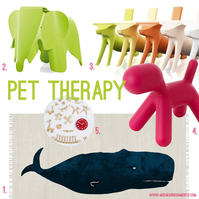 Design per bambini: pet therapy.