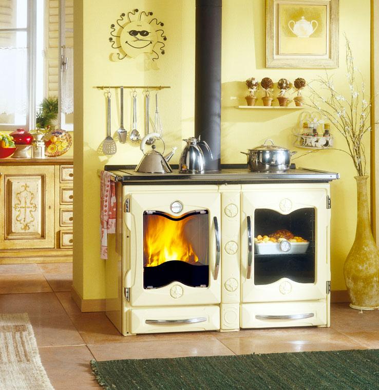 cucine a legna moderne, dalla tradizione al design. - Cucine Moderne A Legna