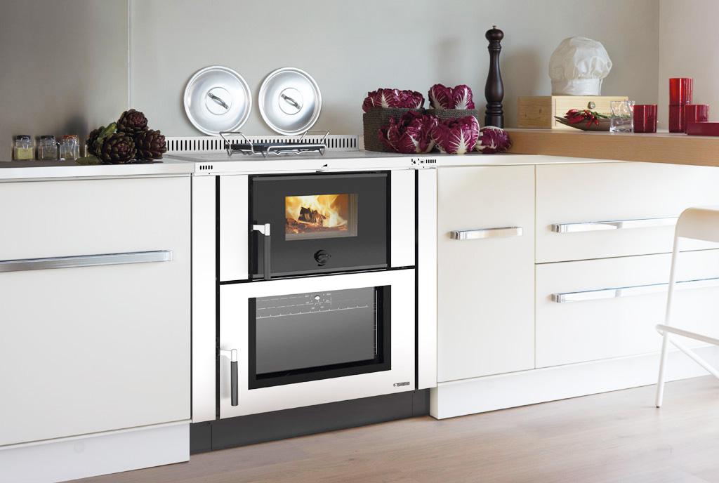 Cucine a legna moderne dalla tradizione al design - Migliore marca forno da incasso ...