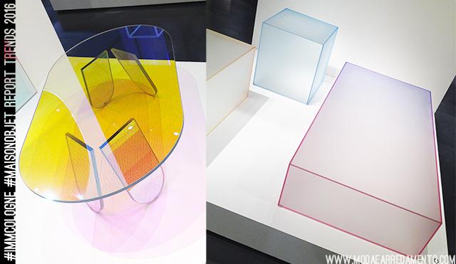 Tendenze arredo 2016: il vetro colorato di Glass.