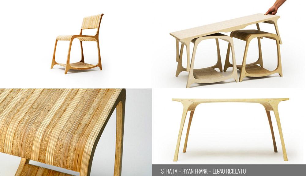 Arredo e riciclo quattro idee di design modaearredamento for Scuole di design di mobili