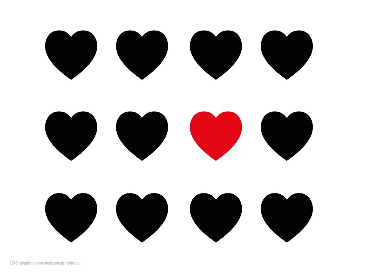 San valentino tutorial come fare quadri con cuori in 3d for Disegni da colorare con cuori