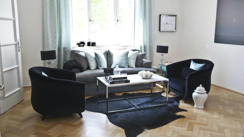 black, white and shade of gray design. - modaearredamento - Arredamento Soggiorno Bianco E Nero 2