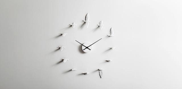 Orologio da parete di design Swallow