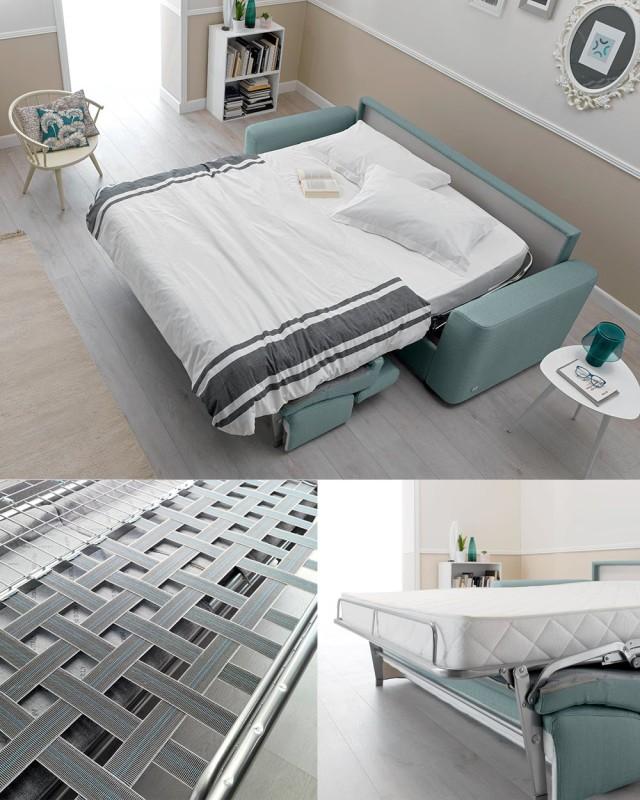 Soluzioni night and day i divani letto matrimoniali - Divano letto materasso alto ...