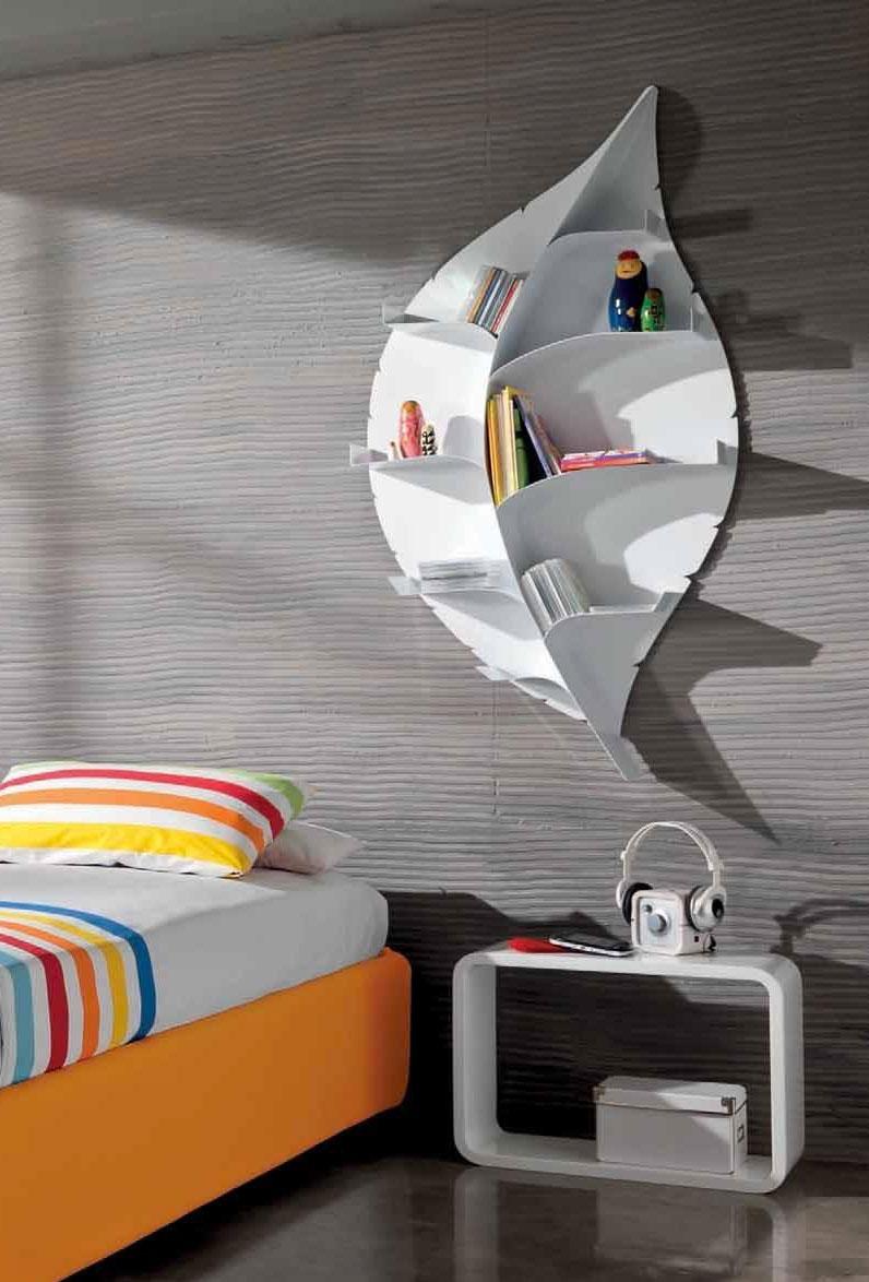 Librerie da appendere a parete idee e soluzioni efficaci for Libreria a muro bianca
