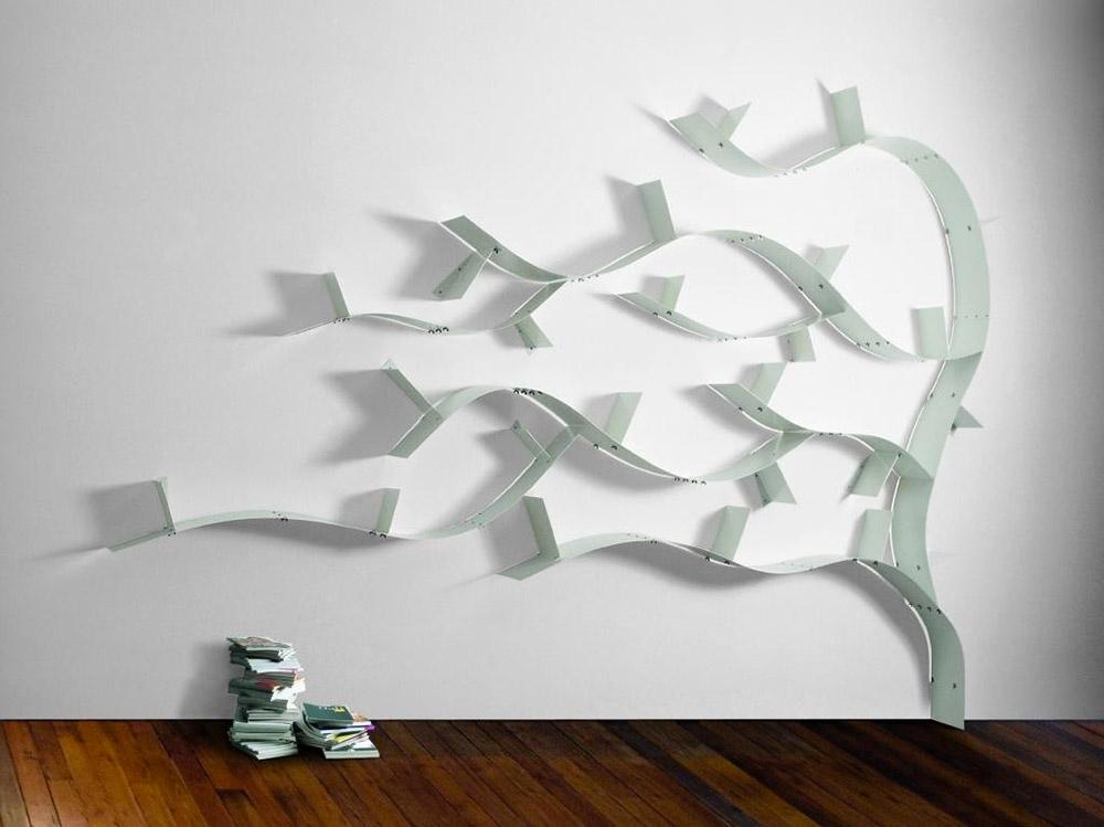 Favorito Librerie da appendere a parete, idee e soluzioni efficaci. CT75